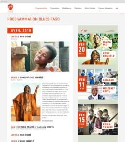 site web blues faso fondation passerelle raphael panerai koopski