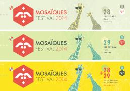 koopski flyer ticket mosaiques festival raphael panerai graphiste freelance paris