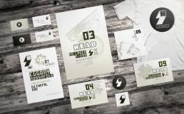 koopski head logo identité flyer affiche raphael panerai graphiste freelance paris