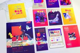 BAM Festival, graphic design koopski raphael panerai