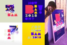 Visuels t-shirts et teasers, Bam Festival, raphael panerai 2019