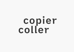 logo copier coller, association artistique, raphael panerai 2019