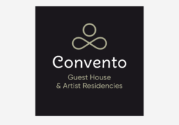 logo Convento, guest house, raphael panerai 2021